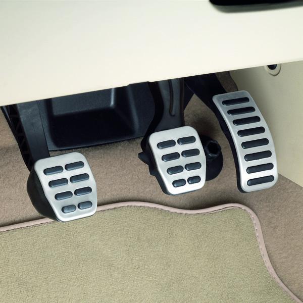 pedales para carros deportivos