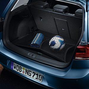 Volkswagen Tiguan red de equipaje