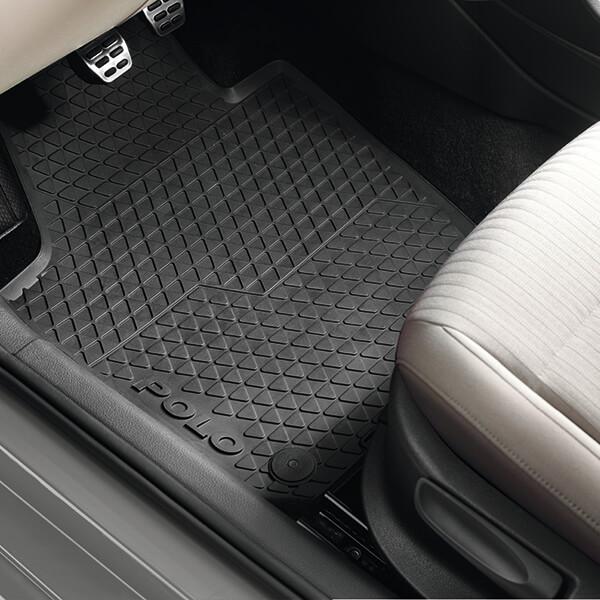 Volkswagen Polo juegos pisos delanteros
