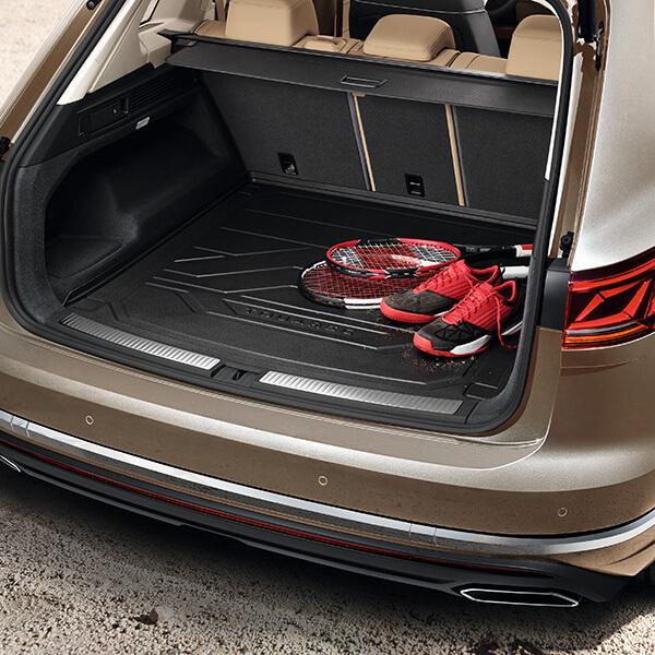 Volkswagen Touareg bandeja maletero