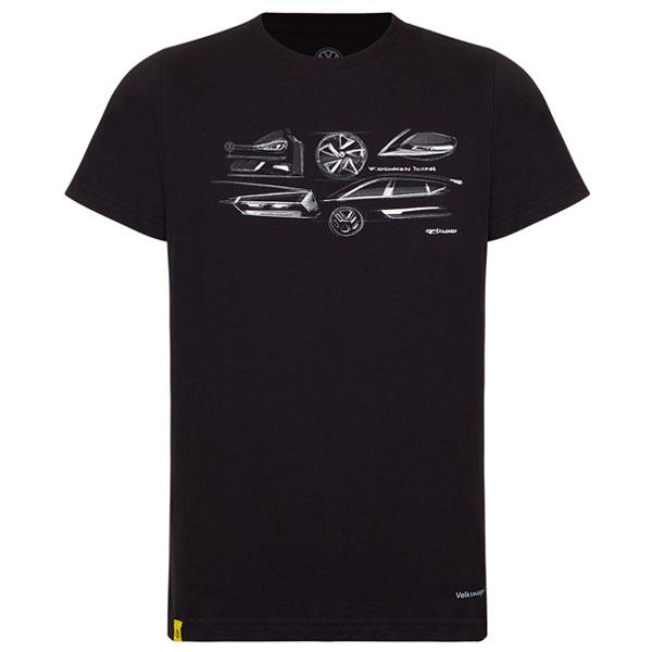 Camiseta Black Tee GTI Volkswagen