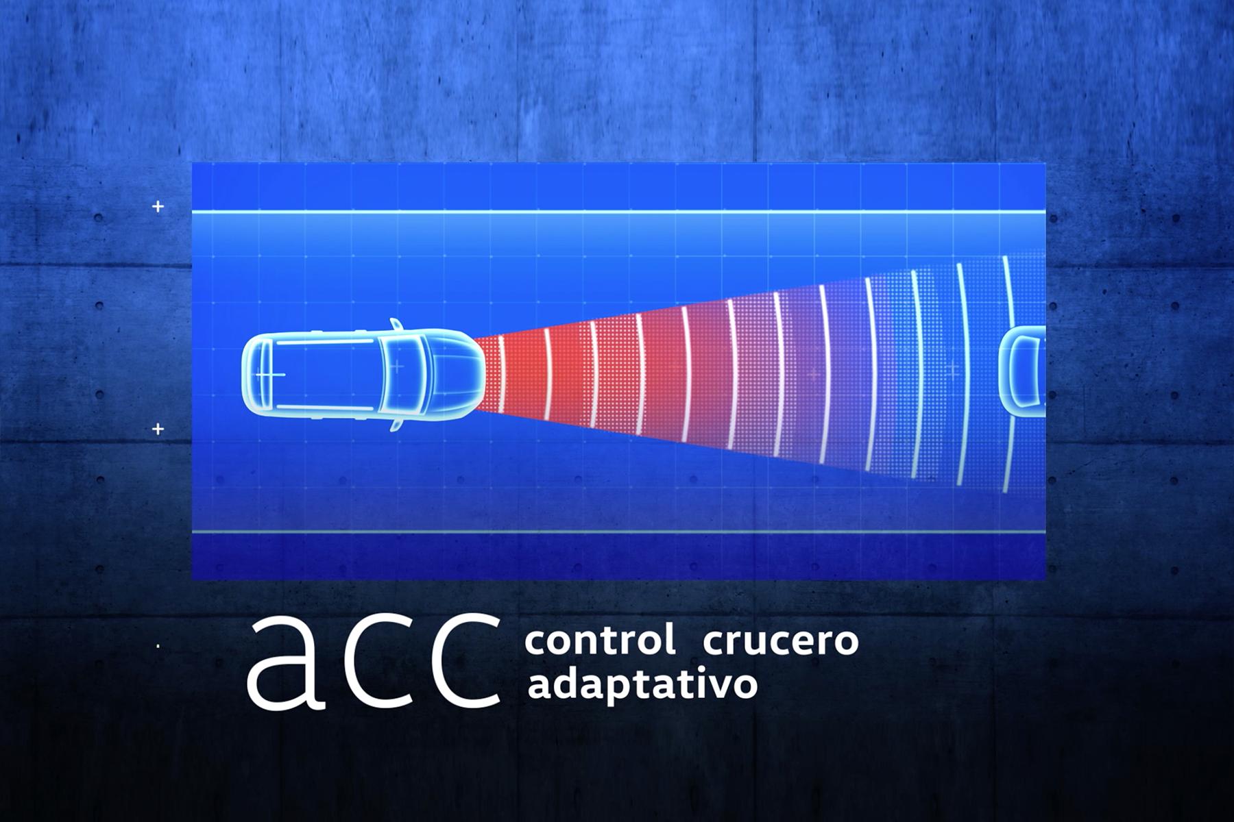 vw control adaptativo de velocidad crucero